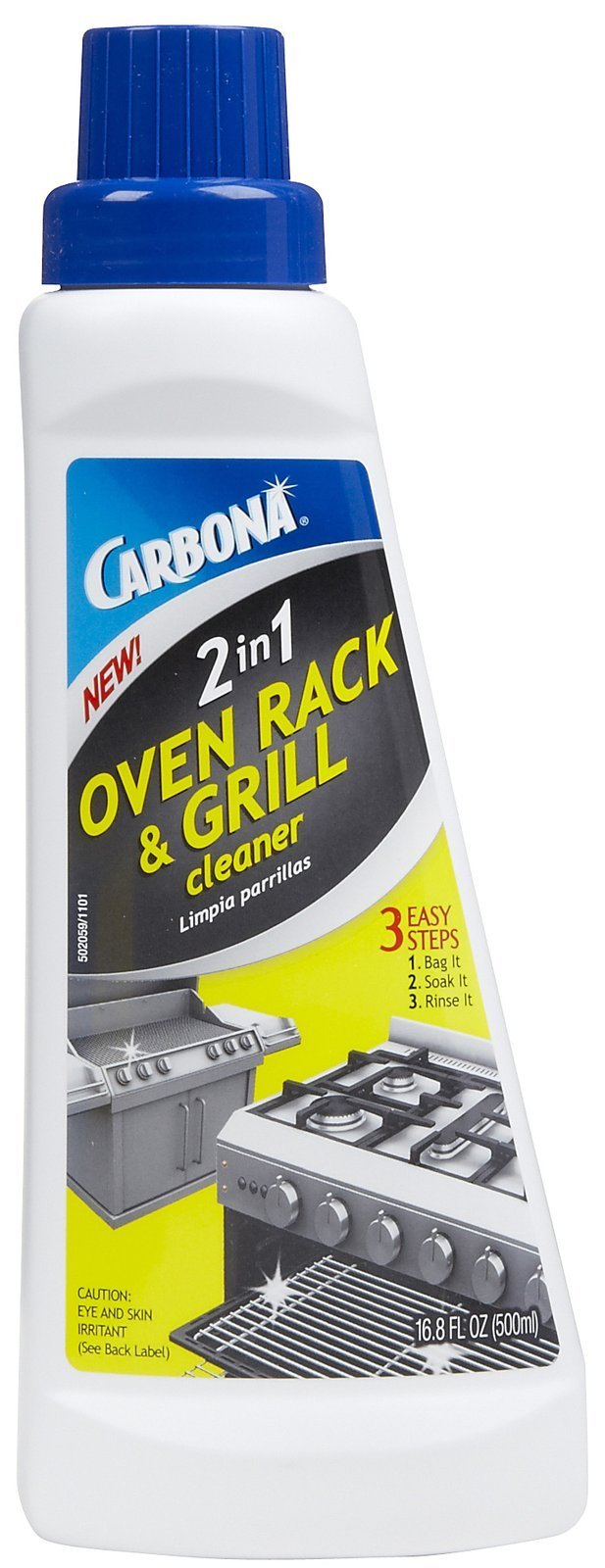 Carbona 2-In-1 Oven Rack And Grill Cleaner Bagged 16.8 Oz by Carbona