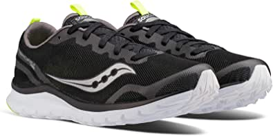 Saucony Running Shoes for Men, Size 8 US, Grey & Black - S40008-2