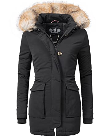 Navahoo Damen Winter-Jacke Winter-Mantel Schneeengel (vegan hergestellt) 11  Farben XS-XXL  Amazon.de  Bekleidung acd9aa9e62