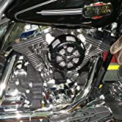 Kuryakyn Black Alley Cat Air Cleaner Cover /'99-/'16 Touring 9438