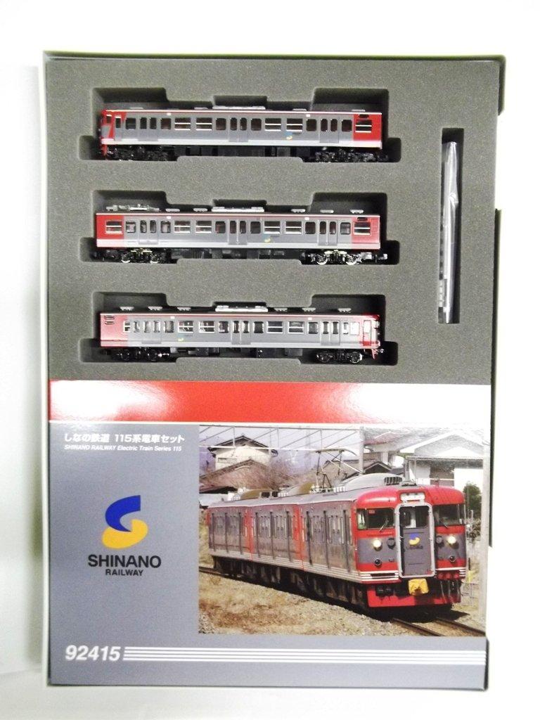 TOMIX Nゲージ しなの鉄道115系 セット 92415 鉄道模型 電車 B00522CSYW