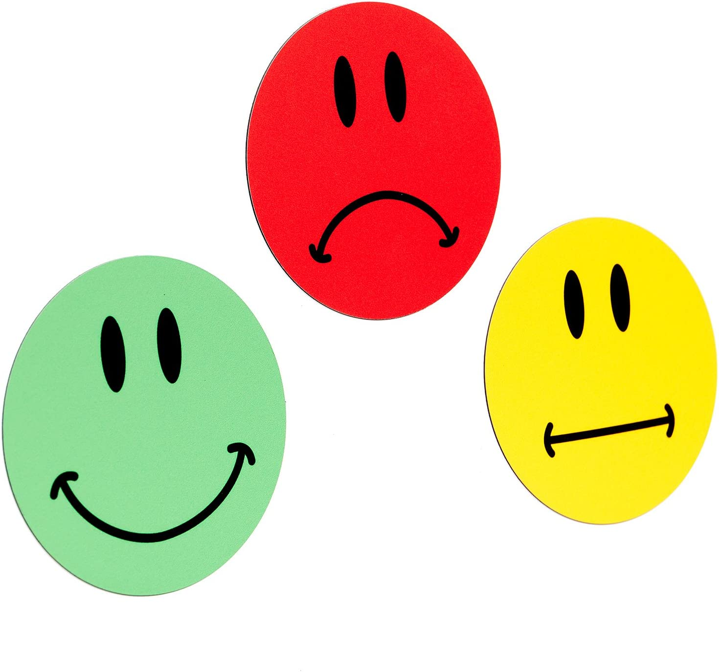 Rote smileys