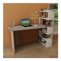 DELUXE Scrivania - Scrivania per computer - Scrivania ufficio - PortaPC - Tavolo per Computer con mensola