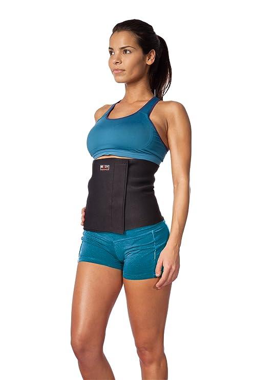 Body Sculpture d aérobic - ceinture abdominale pour affiner la taille - noir dafb7811531