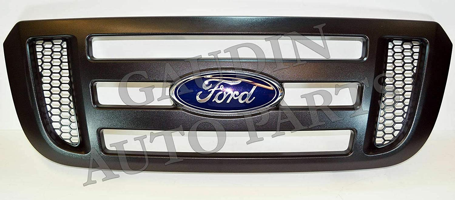 Genuine Ford 6W7Z-8200-AA Radiator Grille Assembly