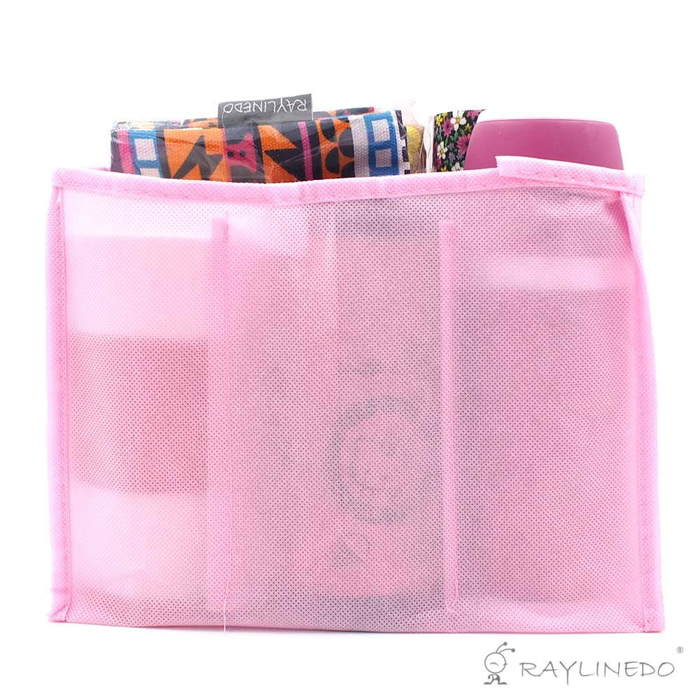 RayLineDo母バッグ旅行アウトドアポータブルNappy Bag For Storage Baby Diaper Nappies Clothes挿入オーガナイザーバッグトート(S、ピンク) 1個   B01BBUCRA8