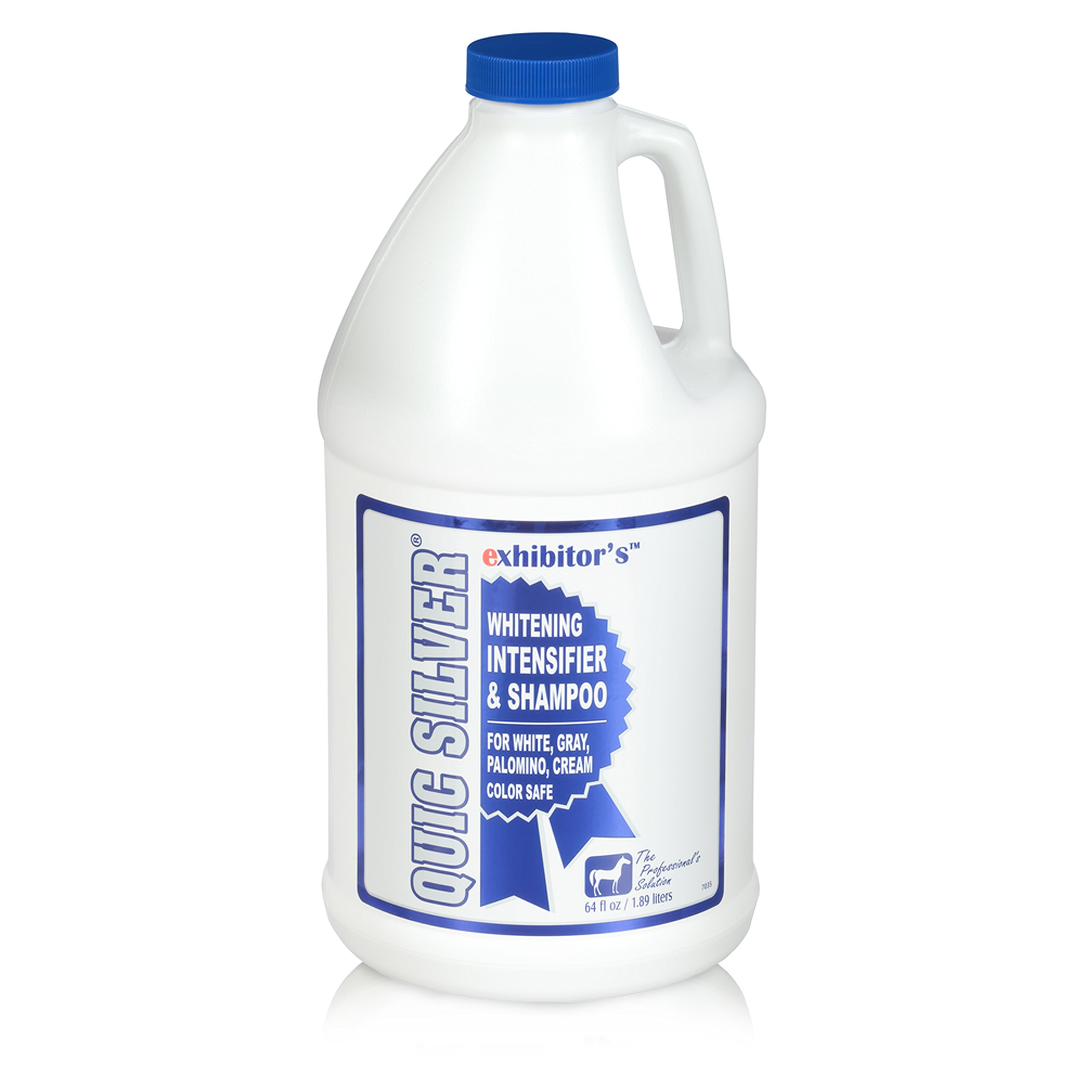 exhibitor's Quic Silver Color Intensifying Horse Shampoo 64 Ounce by exhibitor's