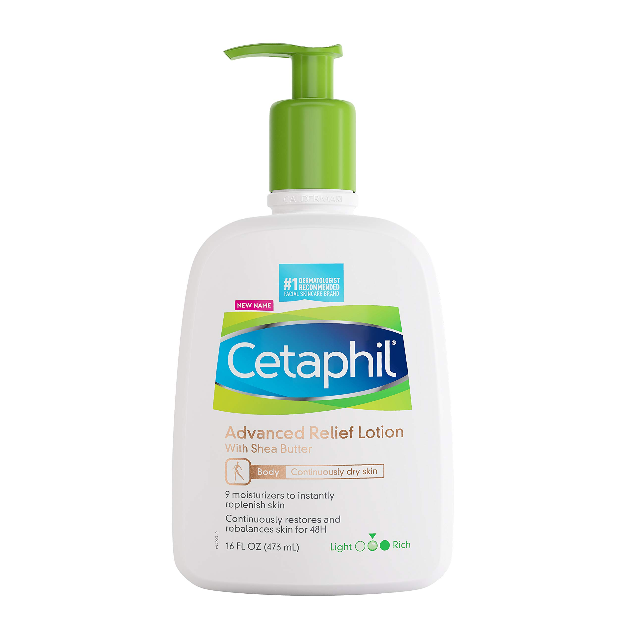 Cetaphil Daily Advance Ultra Hydrating Lotion With Shea Butter For Dry Sensitive Skin, Multi, Fragrance Free, 16 Fl Oz