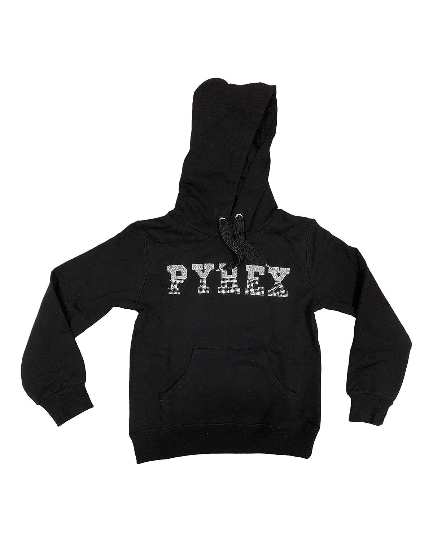 PYREx. Felpa con Cappuccio Glitter
