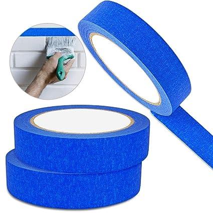 hapdoo blue painters tape 3pk professional grade painters tape 1 masking tape easy removal - Blue Painters Tape