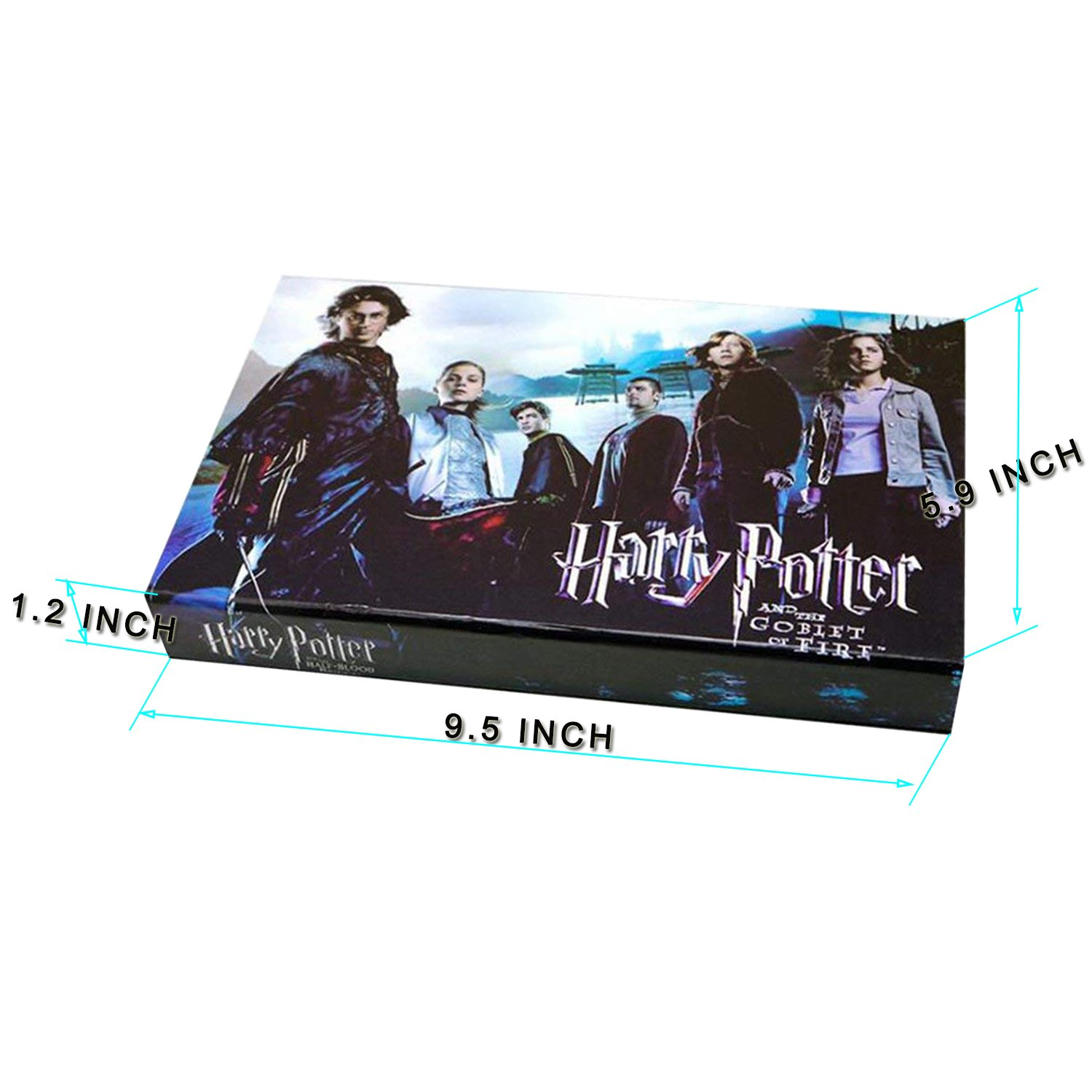 13 Styles Creative Cosplay Harry Potter Series Magic Wands New with Metal Core Magical Wands with Keychain Necklace for Kids by Harmoos (Image #7)