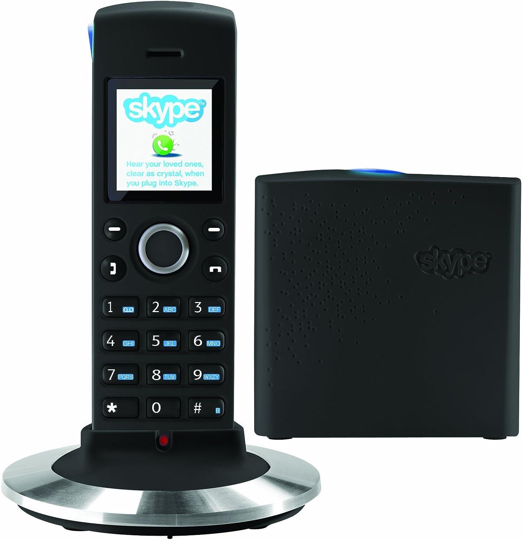 RTX DUALphone 4088 - Teléfono fijo inalámbrico (tradicional y Skype sin necesidad de PC) (importado): Amazon.es: Electrónica
