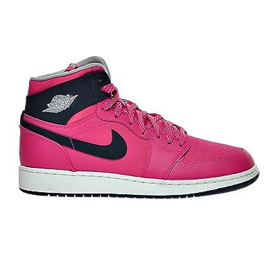 cheap for discount e00ed b2eb9 Jordan Air 1 Retro High GG Big Kid s Shoes Vivid Pink Dark Obsidian Wolf