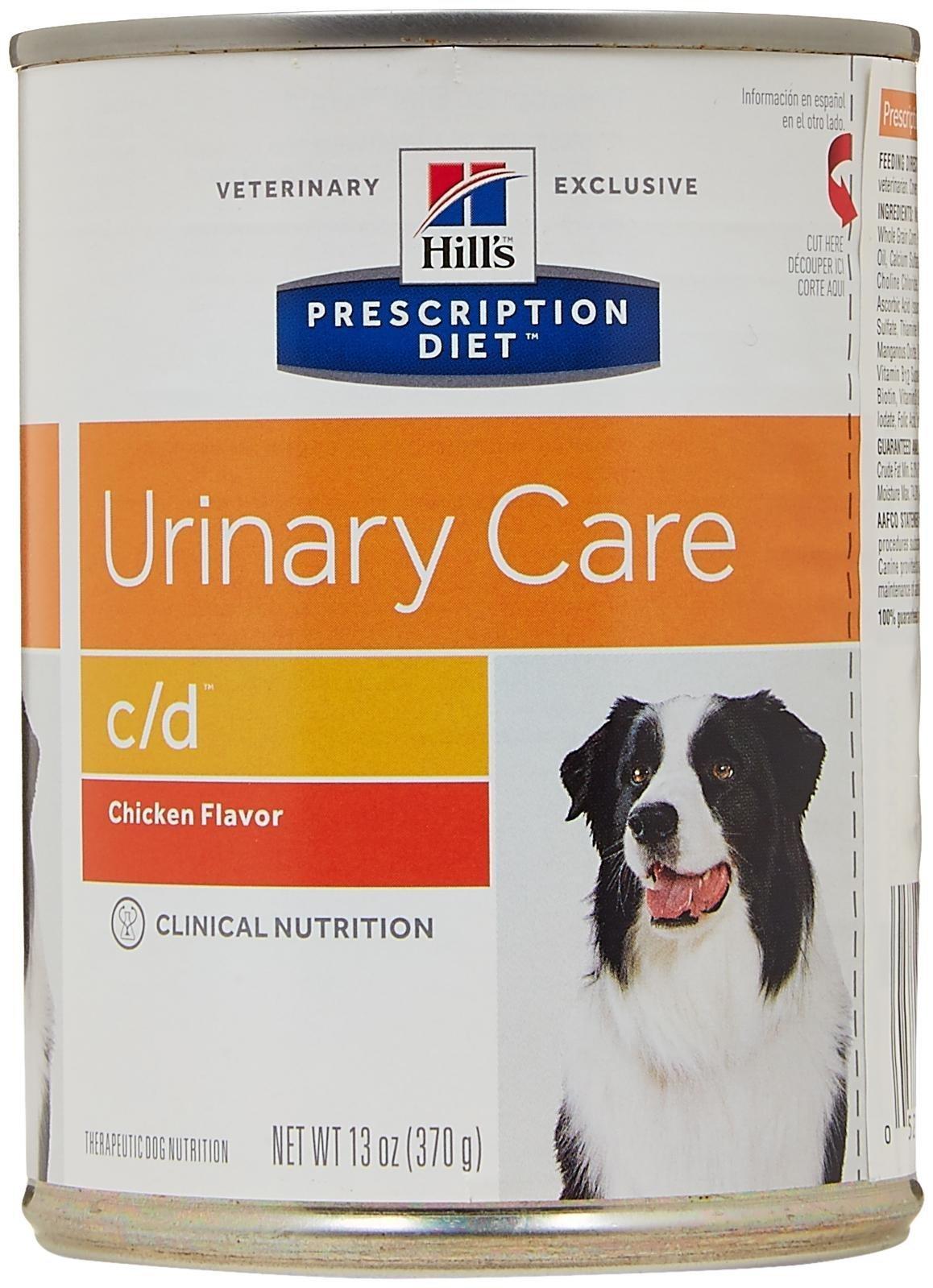 Hill's Prescription Diet c/d Canine Urinary Tract Health - 12x13oz
