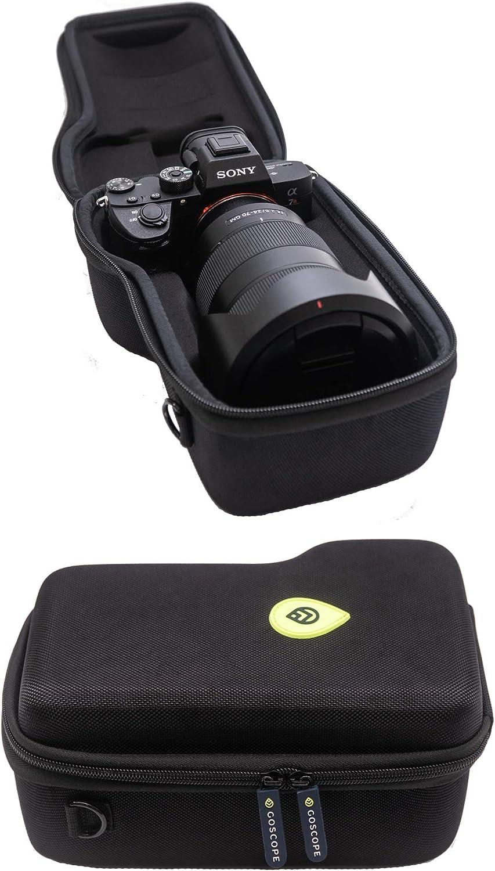 Amazon Com Goscope Alpha Pro Case Hard Case Compatible With Sony A7s Ii A7r Ii A7 Iii A7r Iii A7r Iv A7s Iii A9 A9ii A1 Alpha 1 Fits Camera Body W
