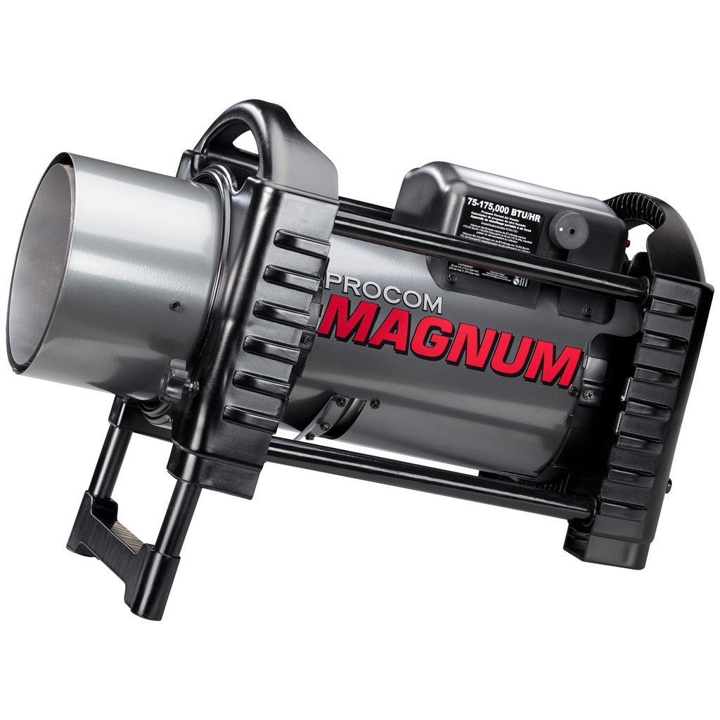 ProCom Magnum Forced Air Propane Heater - 175,000 BTU, Model# PCFA175V