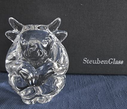 1f86dfd694ba Amazon.com   Steuben Glass Bull Hand Cooler - Limited Edition   Everything  Else