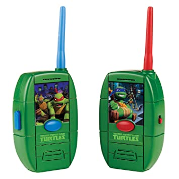 Amazon.es: Tortugas Ninja - Walkie talkies (Giochi Preziosi ...
