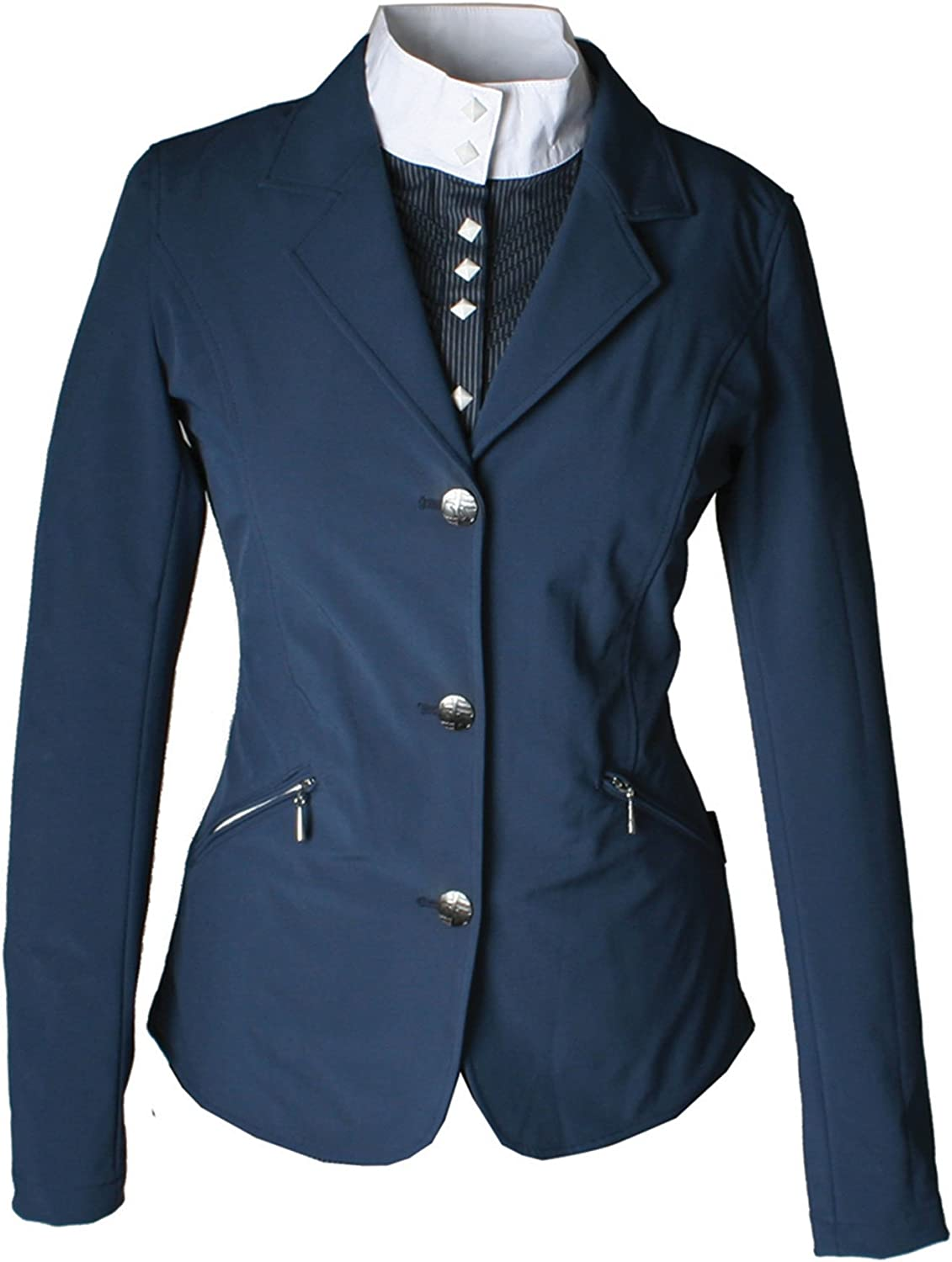 Navy Navy new Horseware Kids Competition Jacket
