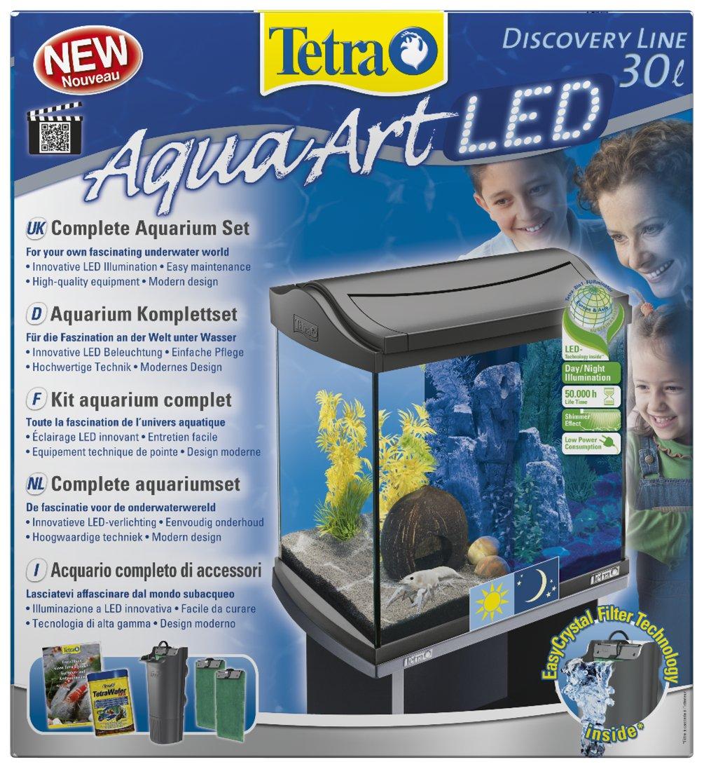 Tetra AquaArt Discovery Line LED Aquarium-Komplett-Set 30 Liter ...