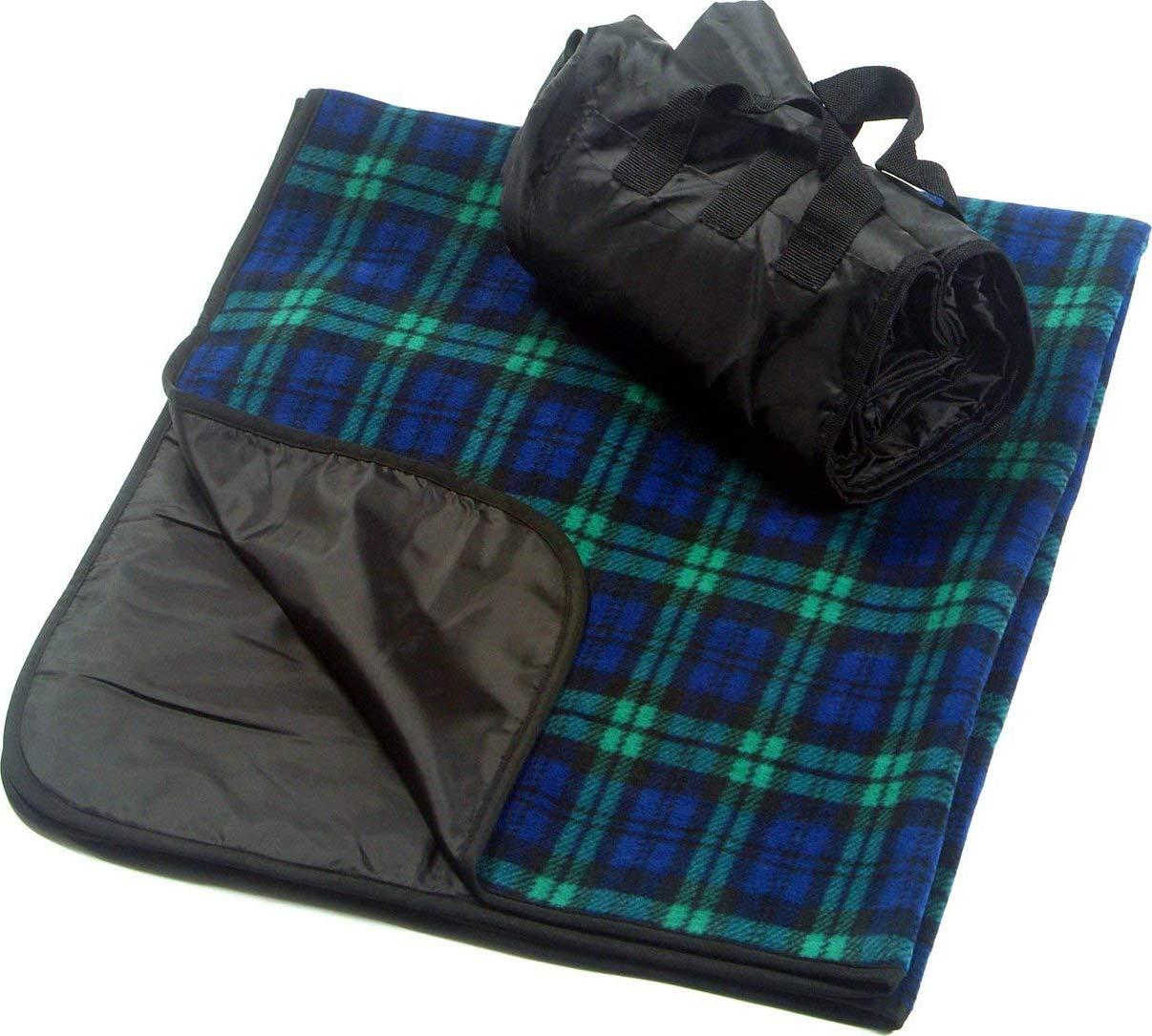 Xelparucoutdoor Picknickdecke, tragbar, für den Außenbereich, 127 x 152 cm