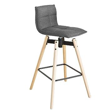 SoBuy® Design Barhocker, 360° drehbar, Sitzhöhe 75 cm,Barstuhl ...