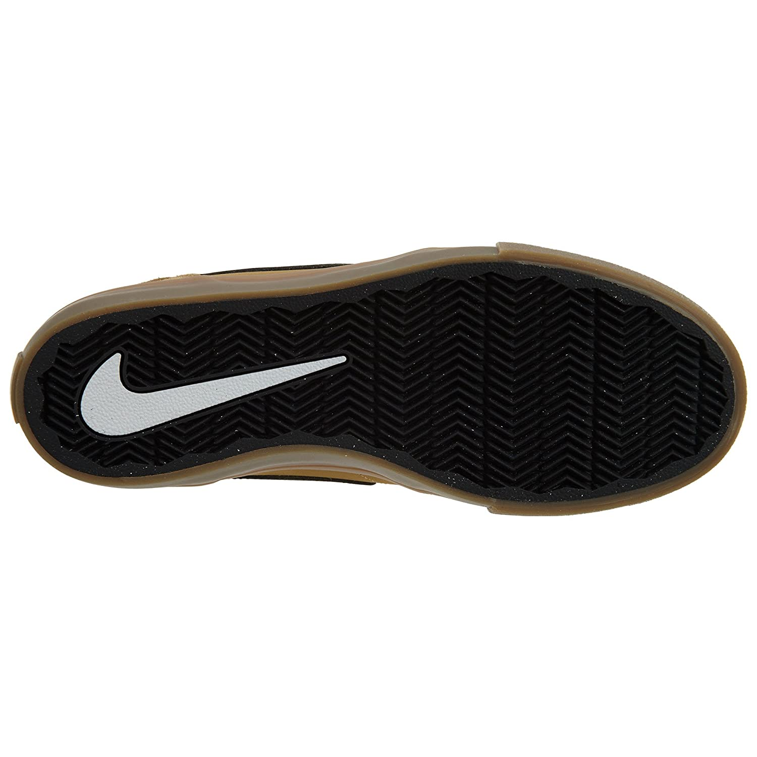 NIKE Men's Sb Portmore Ii Solar Ankle-High Canvas Skateboarding Shoe B07DVTNB6T 6.5 D(M) US|Golden Beige/Black