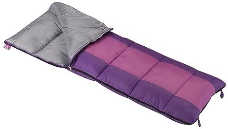 best cheap b3289 5dcf8 Wenzel Summer Camp Rectangular Sleeping Bag - Girl's