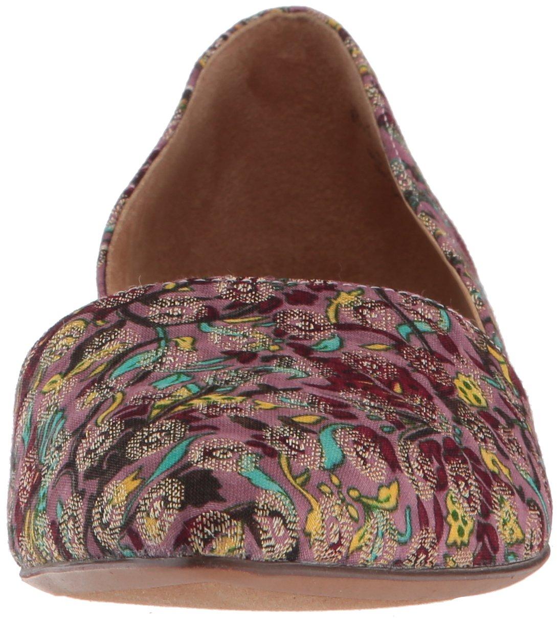 Naturalizer Women's Samantha Pointed Toe Flat B0756KPRSK 8.5 B(M) US|Brocade