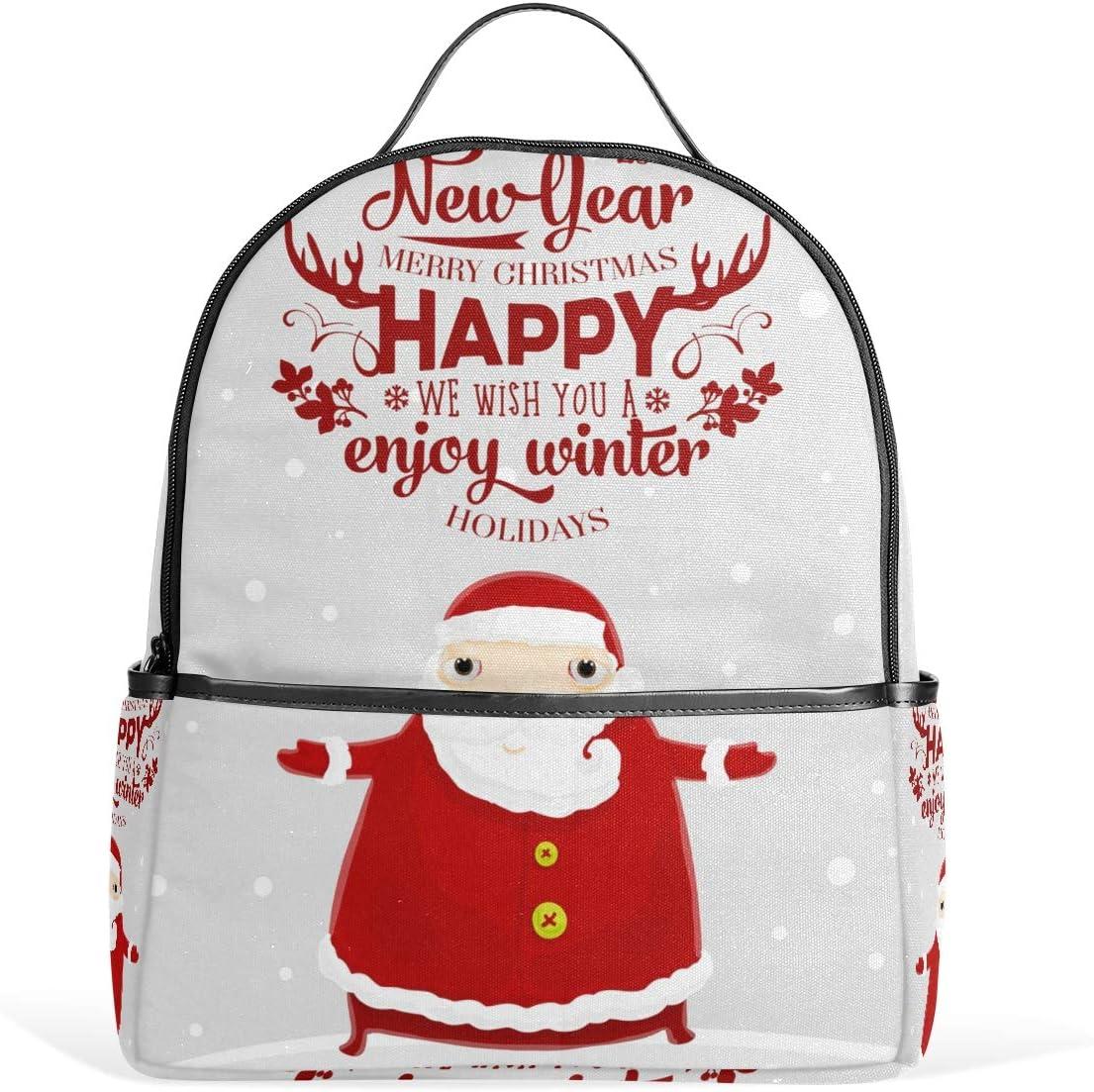 Santa Claus Christmas Backpack