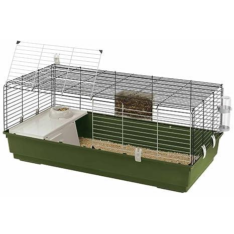 Ferplast Jaula Conejos 18x58,5x49,5 cm Mascotas Pequeñas Conejera ...