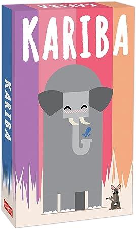 Lúdilo- Kariba Mesa Educativo para niños, Juegos de Cartas para Llevar de Viaje, Jugar en Familia, Games to go, helvetiq: Amazon.es: Juguetes y juegos
