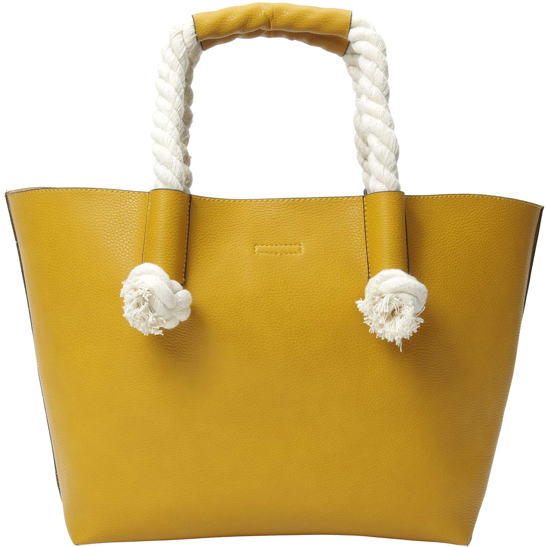 PACO TORA Corde Sac à Main Femmes Faux Cuir Sac à Bandoulière Mode Sac Cabas Grand Sac Rangement - Shopper Collection