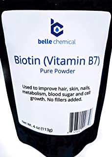 product image for Biotin (Vitamin B7) Pure Powder 4oz (113g) Hair, Nails, Metabolism, Cell Growth