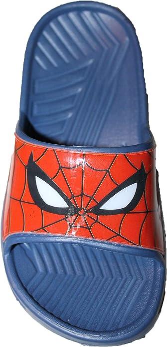 Marvel-Sabot Spiderman-Bleu-gar/çon