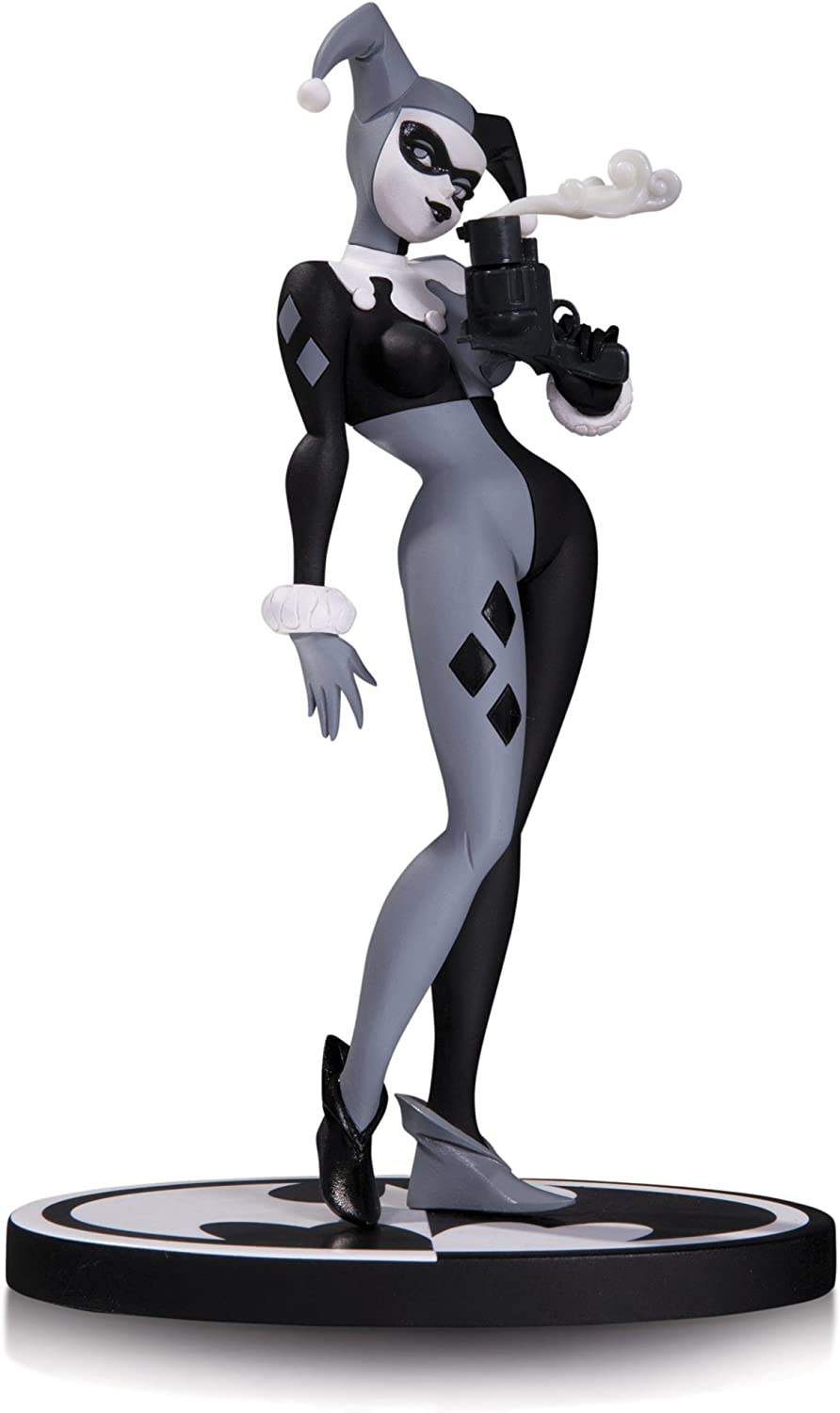 """DC UNIVERSE Exclusive HARLEY QUINN 10/"""" Show Statue Animated Maquette Ltd Edition"""