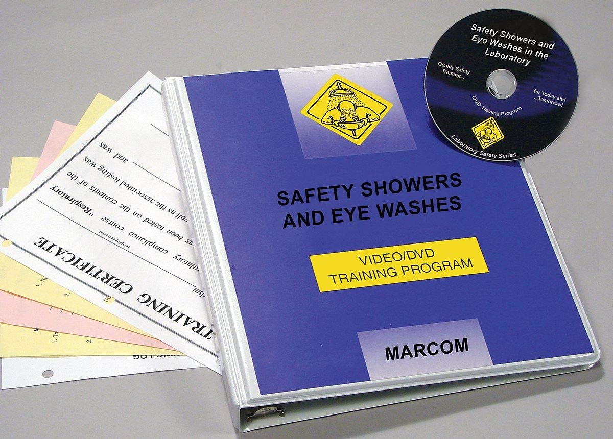 Marcom Safety Showers Eye Washes in the Lab DVD - V0001209EL