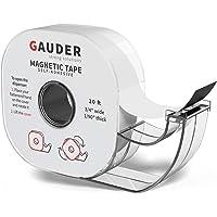 GAUDER Magneetband Dispenser   Dunne Magneetstrip Zelfklevend   Magneetrol