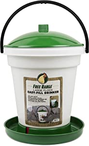 Harris Farms 1000267 Not Available Poultry Drinker, 6.25 Gallon, Green