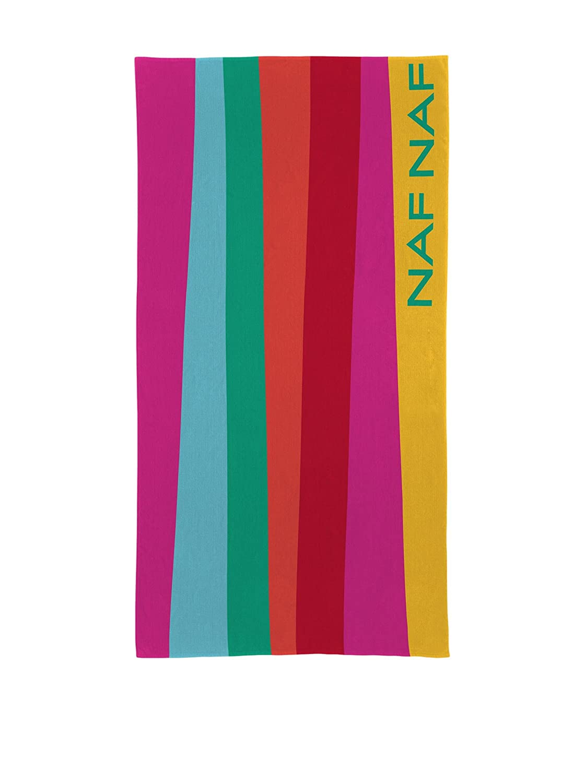 NafNaf linge de maison Toalla Playa Gower Multicolor 90 x 180 cm: Amazon.es: Hogar