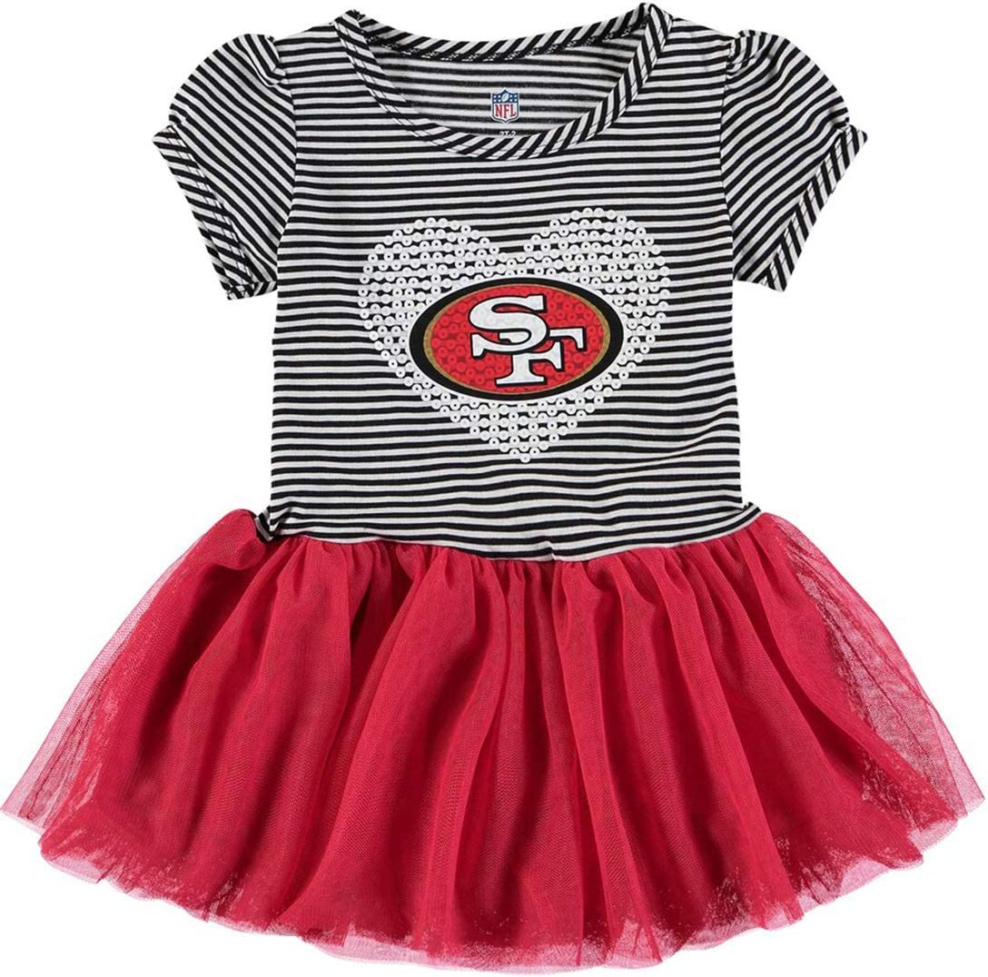 Team Variation OuterStuff NFL Girls Infant and Toddlers Celebration Sequin Tutu