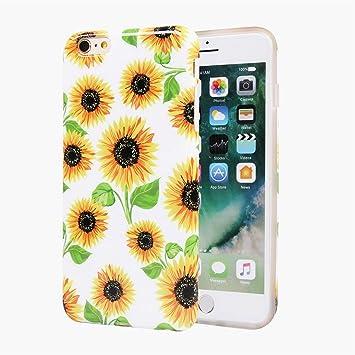coque iphone 6 tournesol