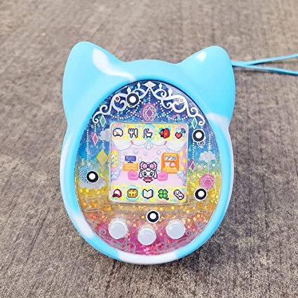 Amazon.es: Goolsky- Cubierta Protectora Shell Funda de Silicona Cubierta de la Máquina de Juegos para Mascotas para Tamagotchi Máquina Electrónica de Juegos para Mascotas de Dibujos Animados