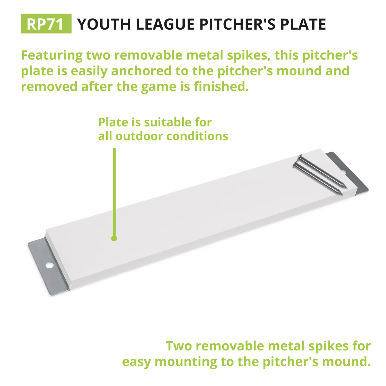 Amazon Champion Sports Youth Pitcher s Plate Kids Baseball