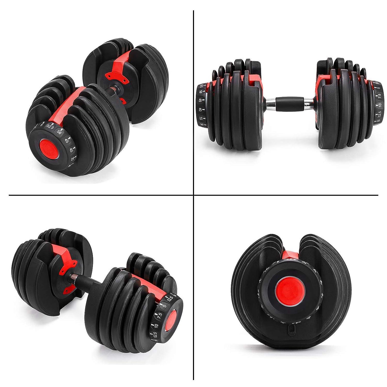 Bộ tạ tay điều chỉnh tập gym Lovshare 71tSy%2BtlwhL._SL1500_