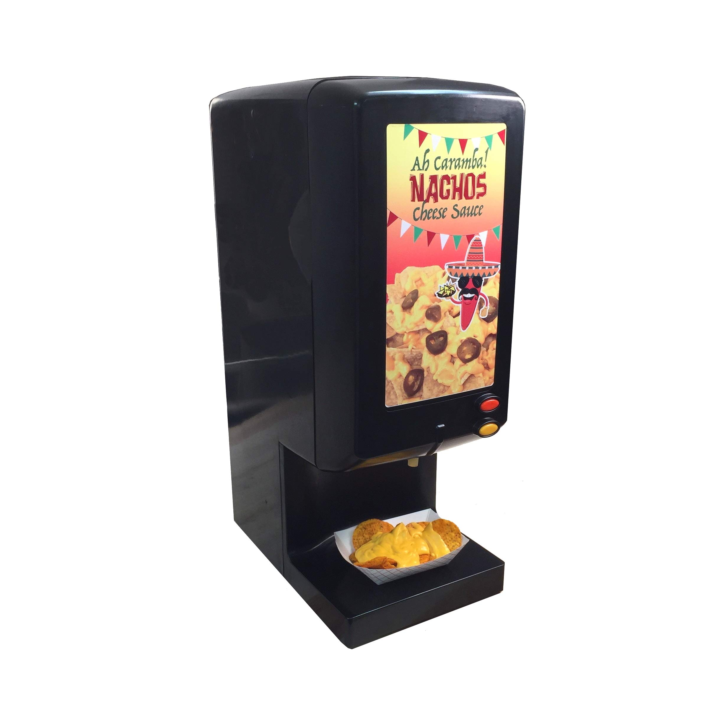 Paragon 2030 Ay Caramba Nacho Cheese Warming Dispenser, Black