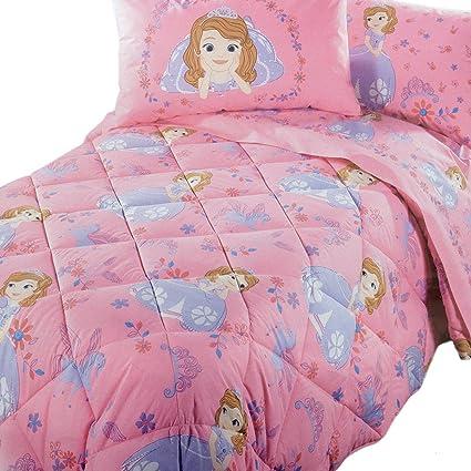 Piumone Principesse Disney Caleffi.Trapunta Invernale Principessa Sofia Disney Caleffi Singola Una