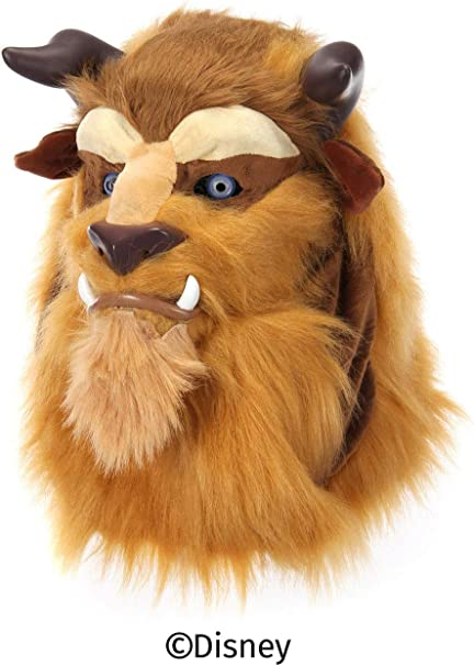 Brown Bear Mask Mouth Mover Animal Fancy Dress Up Halloween Costume Accessory