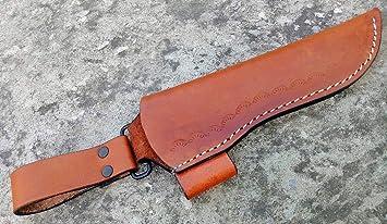 Amazon.com: Ottoza - Funda de piel para cuchillos Bushcraft ...