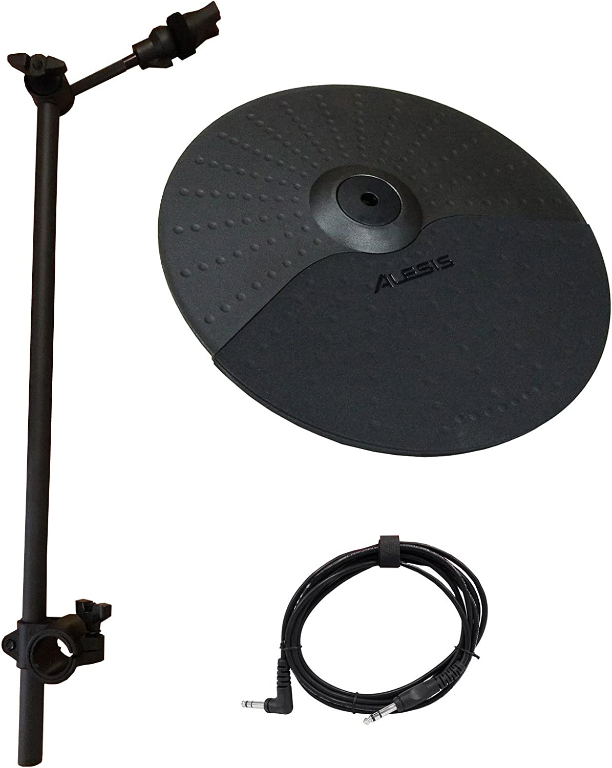 Alesis Nitro Cymbal Expansion Set: 10 Inch Cymbal With Choke, 22In Cymbal Arm, Rack Clamp And 10Ft Trs Cable